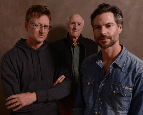 Left to right: Mark Lynas, Stewart Brand, Michael Shellenberger