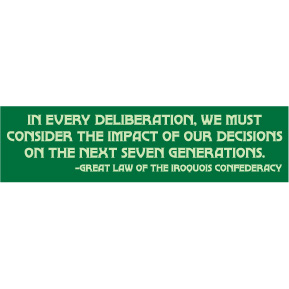 Impact-On-Next-Seven-Generations-Bumper-Sticker-(7147)